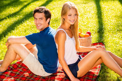 Picnic time. Royalty Free Stock Images