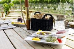 picnic winnica Zdjęcia Stock