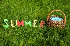 Picnik del verano Fotografía de archivo