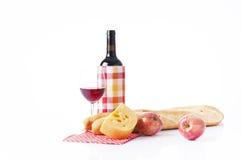 Picninc del verano con el vino Imágenes de archivo libres de regalías