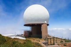 Pico做Arieiro,马德拉岛 免版税库存图片