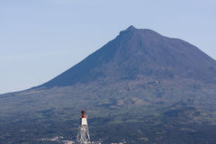 Pico火山 库存照片