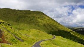 Pico,海岛的横向。 免版税库存照片