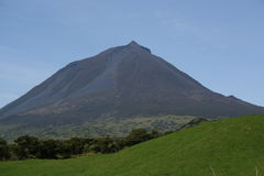 pico горы Стоковые Фотографии RF