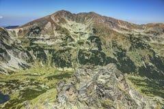 Pico 1.1 de Musala Fotos de archivo