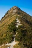 Pico afiado de Sai Kung imagens de stock