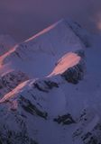 Pico alpino Foto de Stock Royalty Free