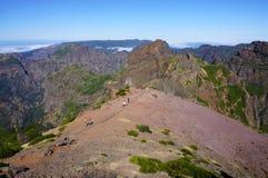 Pico Areeiro Fotografering för Bildbyråer