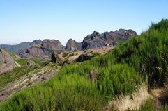 Pico Areeiro Royaltyfria Foton