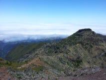 Pico Areeiro royaltyfri bild