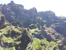Pico Areeiro royaltyfri fotografi