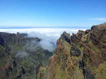 Pico Areeiro fotografia stock