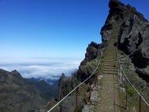 Pico Areeiro arkivfoton