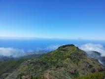 Pico Areeiro Imagen de archivo
