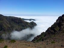 Pico Areeiro arkivfoto