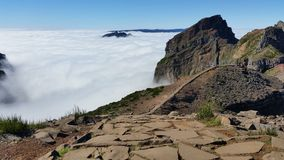 Pico Areeiro arkivbild