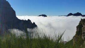 Pico Areeiro royaltyfri foto