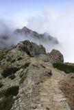 Pico arieiro on madeira island Stock Photo
