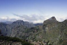 Pico arieiro on madeira island Stock Images