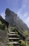 Pico arieiro on madeira island Stock Images