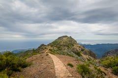 Pico Arieiro and Ruivo hike Stock Photography