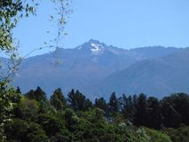 Pico Bolivar. Foto del Pico Bolivar, Mérida, Venezuela stock photos