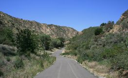 Pico Canyon Road Stock Photography