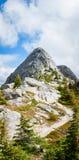 Pico da agulha, Fraser Valley, BC, Canadá Imagens de Stock