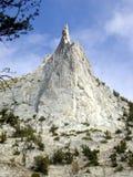 Pico da catedral de Yosemite Fotografia de Stock
