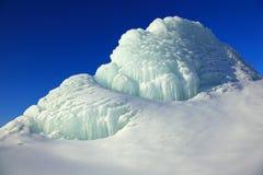 Pico da geleira Imagem de Stock Royalty Free