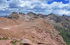 Pico da luz solar, Rocky Mountains Colorado Foto de Stock Royalty Free