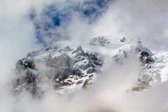 Pico da neve Imagem de Stock Royalty Free