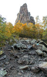Pico da rocha Imagens de Stock Royalty Free