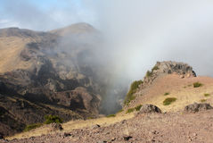 Pico De阿威罗马德拉岛 库存照片
