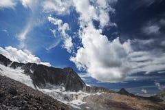 Pico de Adamello Imagem de Stock Royalty Free