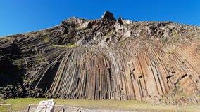 Pico de Ana Ferreira à Porto Santo, îles de la Madère Photos stock