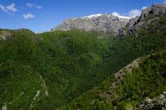 Pico de Botev na montanha de Stara Planina, Bulgária Fotografia de Stock Royalty Free