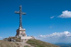 Pico de Caraiman fotografía de archivo libre de regalías