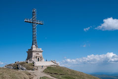 Pico de Caraiman Fotografia de Stock Royalty Free