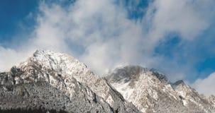 Pico de Caraiman Imagens de Stock Royalty Free