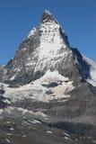 Pico de Cervino Fotos de archivo libres de regalías