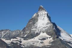 Pico de Cervino Fotografía de archivo