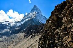 Pico de Cervino Imágenes de archivo libres de regalías