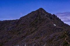 Pico de Chirripo imagem de stock