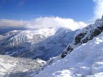 Pico de Chopok e de Äumbier Foto de Stock