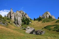 Pico de Ciucas Imagenes de archivo