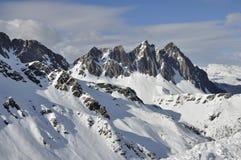 Pico de Colbricon, dolomías Imágenes de archivo libres de regalías