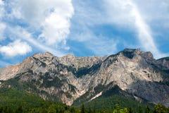 Pico de Dobratsch - cumes austríacos Fotos de Stock Royalty Free