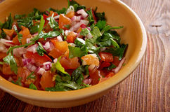 Pico de gallo Stock Images