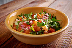 Pico de gallo Stock Photo